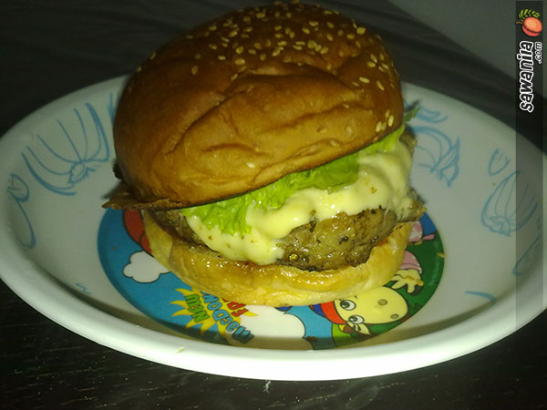 Burger untuk Orang Pantang
