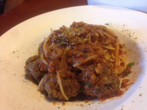 Meatball spaghetti -  KHeirul punya. Sedap cukup rasa. meatball dia memang sedap